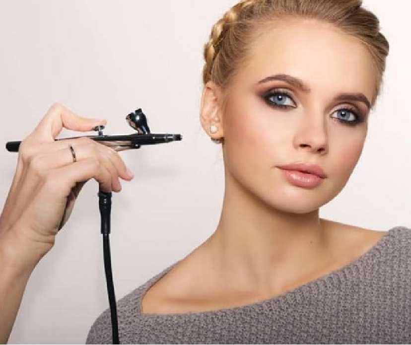 HD and Hairbrush Makeup